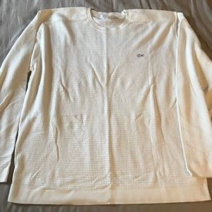 LACOSTE MENS COTTON LONG SLEEVE